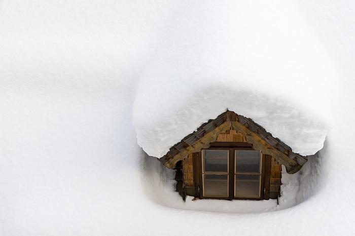 assurance maison pour l'hiver: tempête de verglas et neige