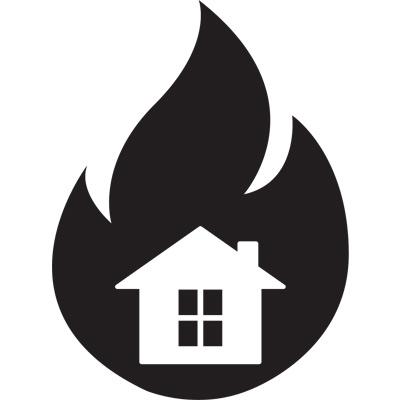Un feu de forêt pourrait tout détruire, assurez-vous de posséder une assurance habitation sur la Côte-Nord.