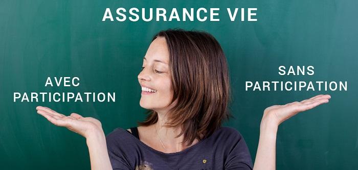 avantages de l'assurance vie avec ou sans participation