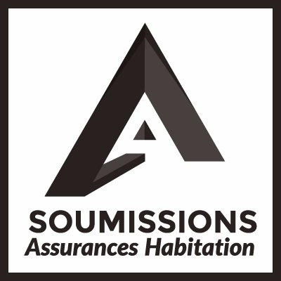Voici le logo de Soumissions Assurance au sein de l'article pour l'assurance habitation dans les Laurentides, à Blainville et à Boisbriand.