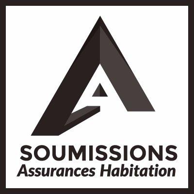 Soumissions assurances, le logo pour l'assurance auto et maison à Ottawa.