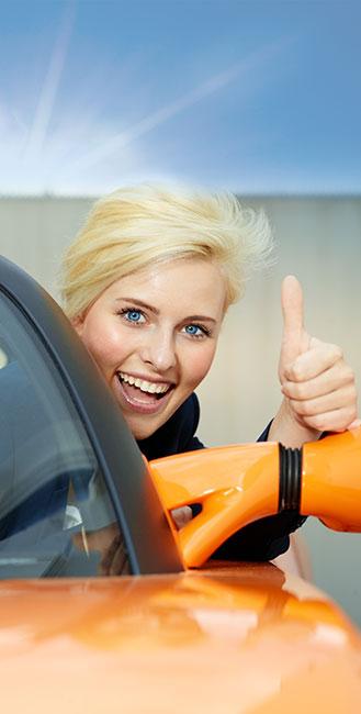L'assurance auto peut vous donner des rabais si vous avez un véhicule électrique.